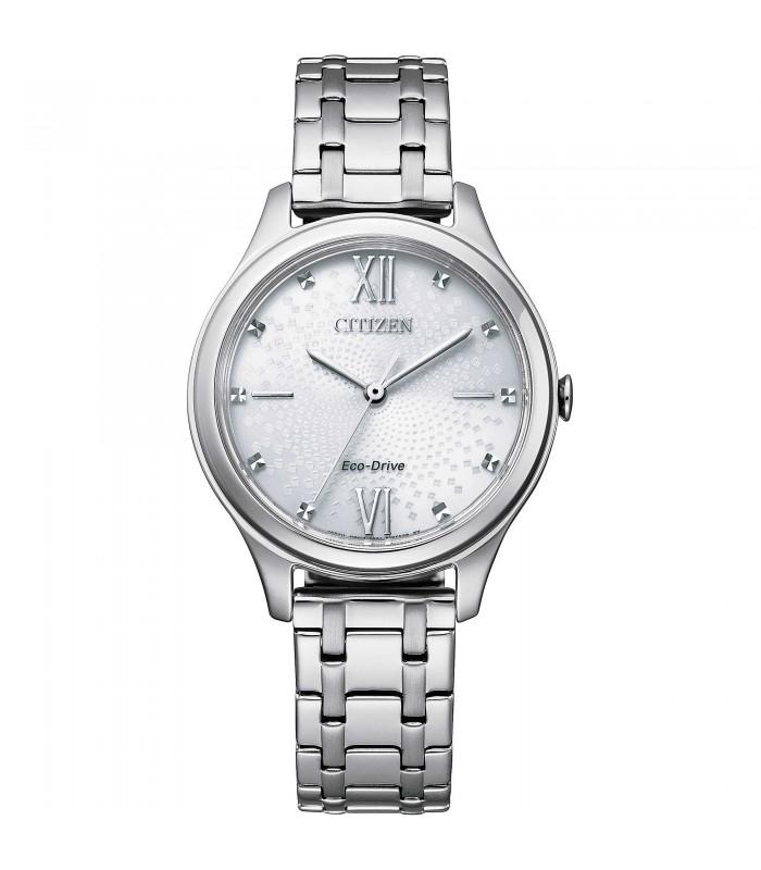 Orologio Donna Citizen Silver Bianco EM0500-73A