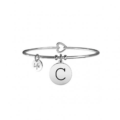 Bracciale Donna Kidult Symbols Iniziale C 231555C