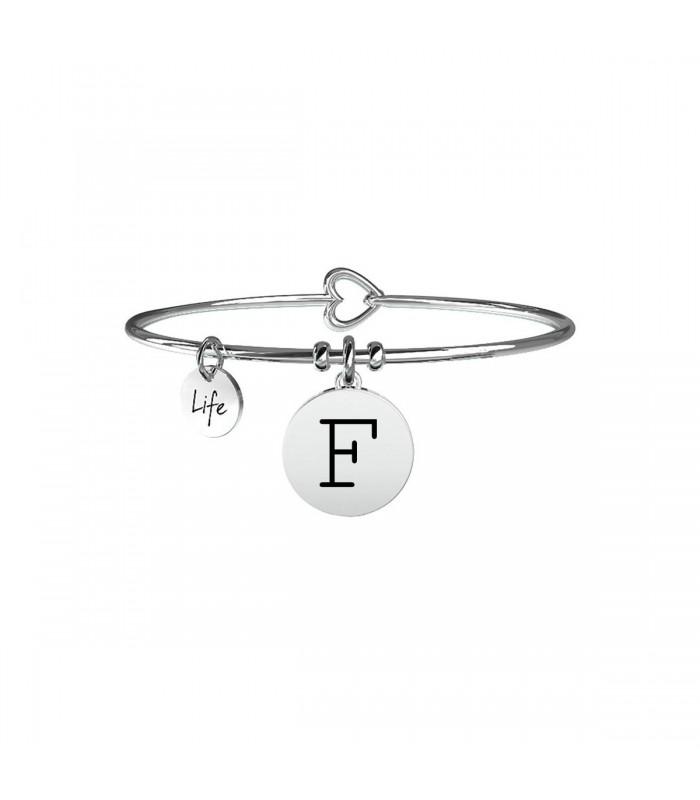 Bracciale Donna Kidult Symbols Iniziale F 231555F