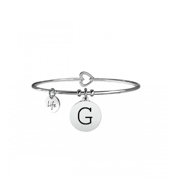 Bracciale Donna Kidult Symbols Iniziale G 231555G