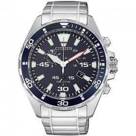 Orologio Uomo Citizen Cronografo Blu AT2431-87L