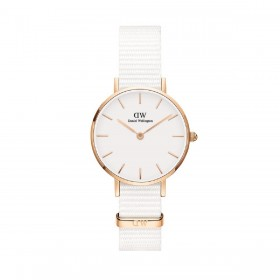 Orologio Donna Daniel Welligton Classic Petit Dover 28 White DW00100313