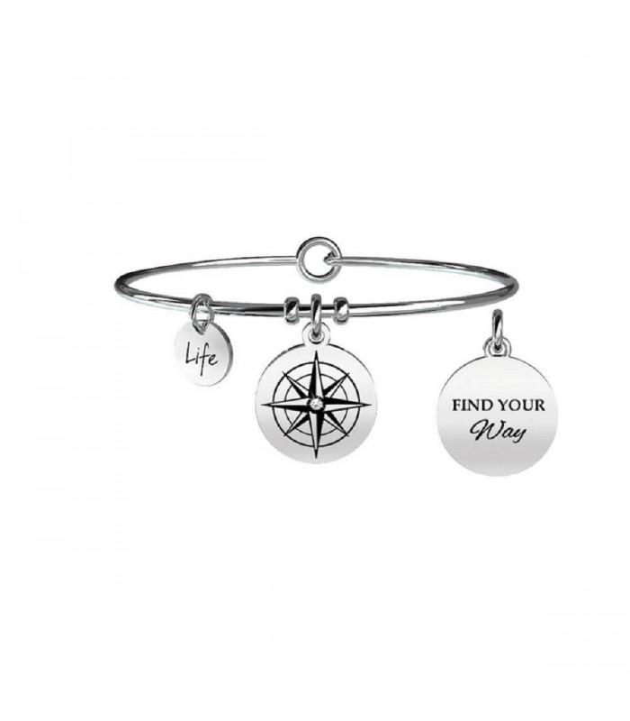 Bracciale Donna Kidult Symbols Rosa dei Venti 731063