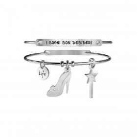 Bracciale Donna Kidult Symbols Scarpetta 731075