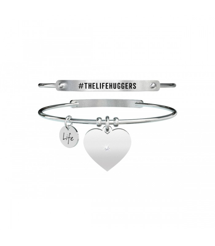 Bracciale Donna Kidult Love Cuore #TheLifeHuggers 731453