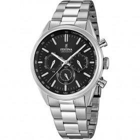 Orologio Cronografo Uomo Festina Timeless Chronograph F16820-4