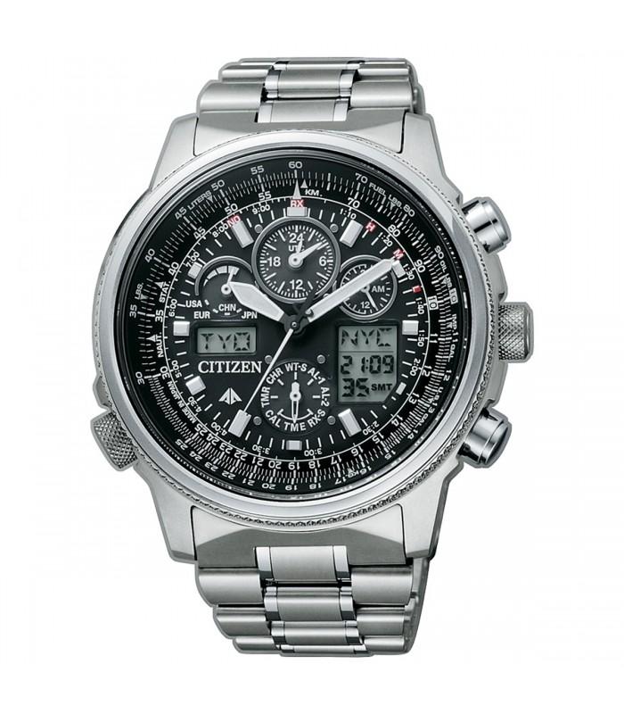 Orologio Cronografo Uomo Citizen Super Pilot JY8020-52E