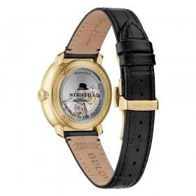 Orologio Uomo Bulova Collezione Frank Sinatra 40mm Antracite 97B201