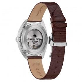 Orologio Uomo Bulova Collezione Frank Sinatra 40mm Marrone 96B347