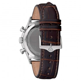 Orologio Cronografo Uomo Bulova Collezione Frank Sinatra 40mm Marrone 96B355