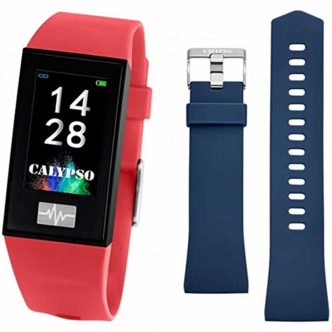 Smartband Calypso Festina K8500 Smartwatch Multifunzione Rosso/Blu