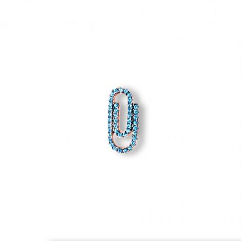 Orecchino Donna Ear Cuff Raggi Argento 925 Rosato Modello Attache