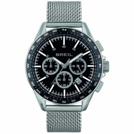 Orologio Cronografo Uomo Breil Rugged Nero Acciaio TW1891