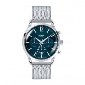 Orologio Cronografo Uomo Henry London Kinghtsbridge HL41-CM-0037