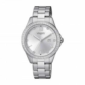 Orologio Donna Vagary Timeless Lady 32mm Silver Cristalli IU2-413-11