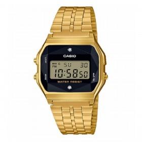 Orologio Unisex Casio Diamond Edition Oro A159WGED-1EF