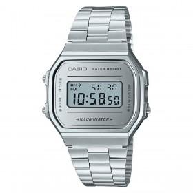 Orologio Unisex Casio Iconic Silver A168WEM-7EF