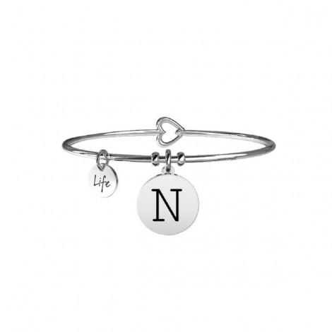 Bracciale Donna Kidult Symbols Iniziale N 231555N
