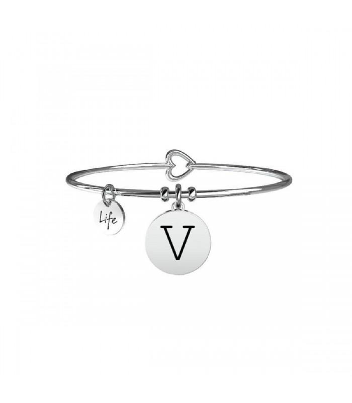 Bracciale Donna Kidult Symbols Iniziale V 231555V
