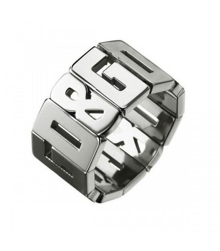 Anello Unisex Dolce & Gabbana in acciaio Misura 14 DJ0537