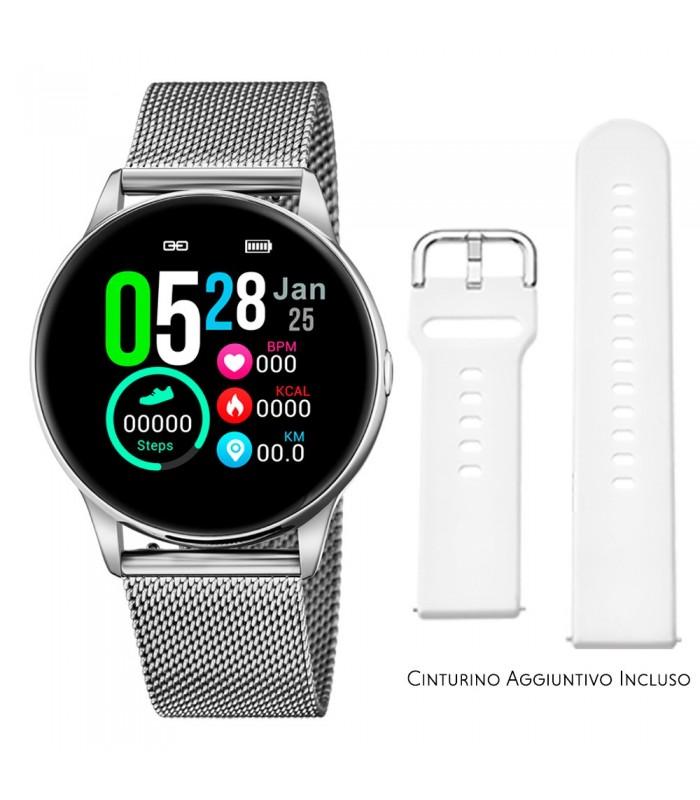 Smartwatch Lotus Smartime Multifunzione 50000 Bianco