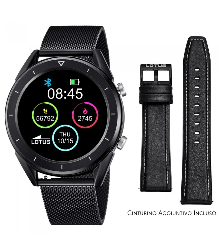 Smartwatch Lotus Smartime Multifunzione 50007 Nero