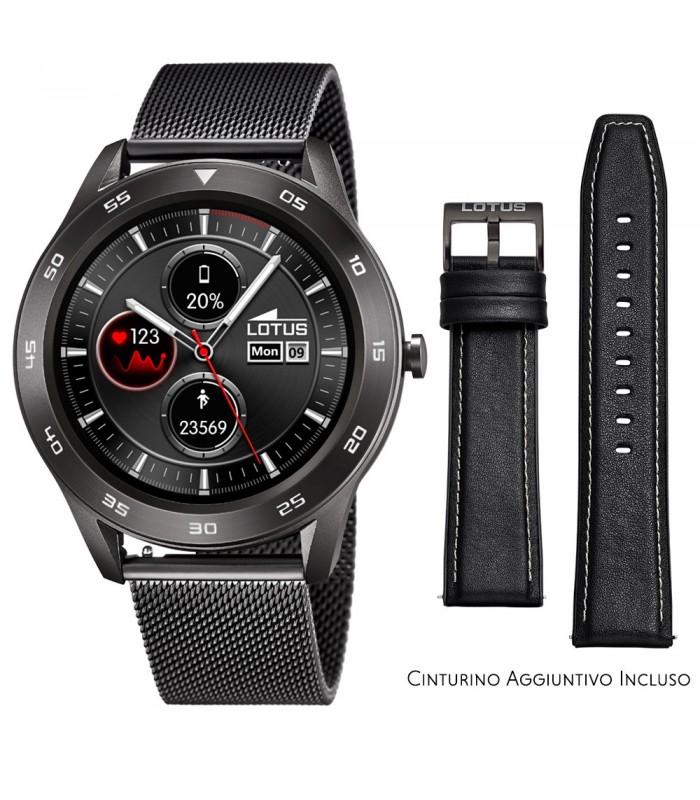 Smartwatch Lotus Smartime Multifunzione 50011 Grigio e Nero