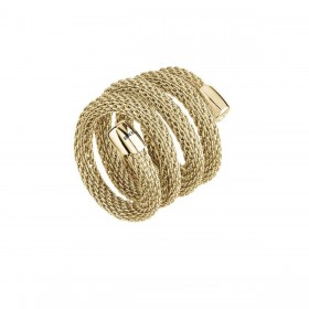 Anello Donna Breil New Snake Gold TJ2720