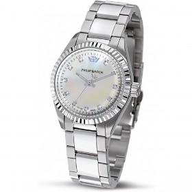 Orologio Donna Philip Watch Caribe con Diamanti R8253597508
