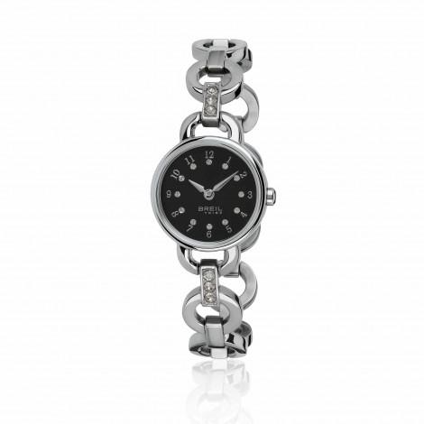 Breil Orologio Agata Silver Black Donna EW0277