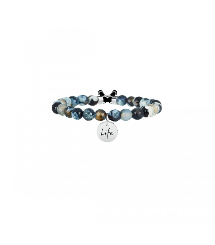 Bracciale Donna Kidult Symbols Agata Nera 231529
