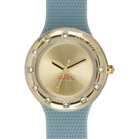 Orologio Donna Hip Hop Metal Light Blue HWU0911