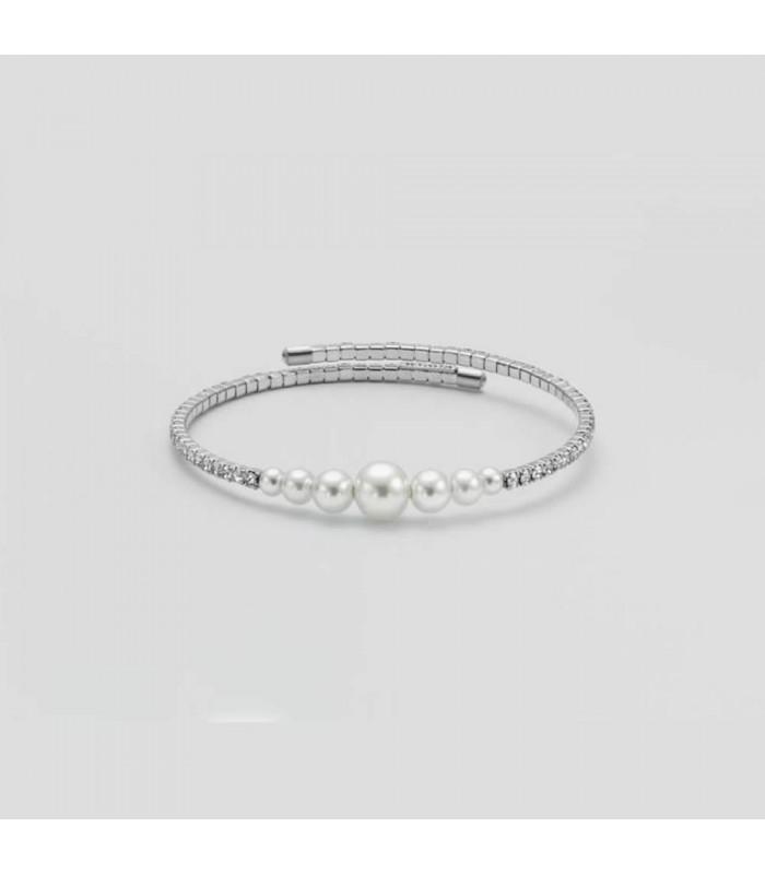 Bracciale Donna Kiara con Pietre e Perle KBRD1538B