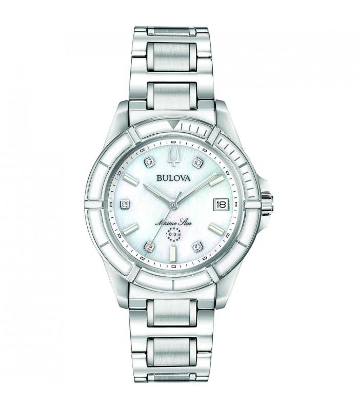 Orologio Donna Bulova Diamonds Silver 96P201
