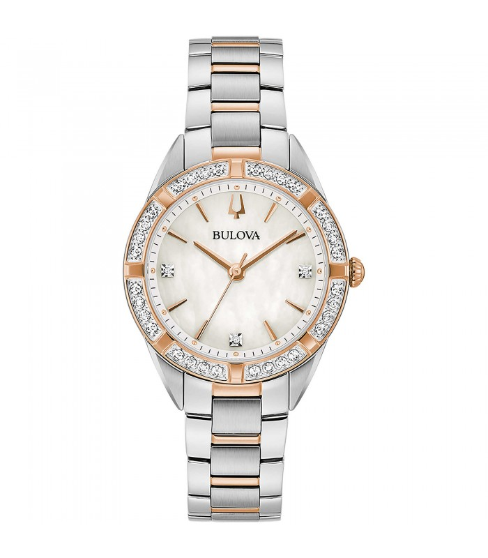 Orologio Donna Bulova Diamonds Rose 98R281
