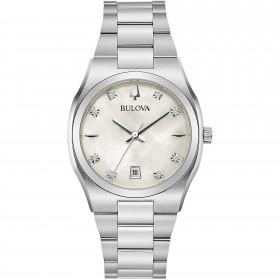 Orologio Donna Bulova Diamonds Silver 96P218