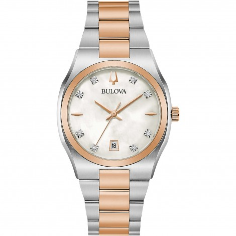 Orologio Donna Bulova Diamonds Gold 98P199